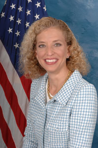 Democratic National Chair Debbie Wasserman Schulz
