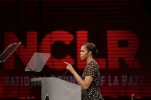 First Lady Michelle Obama delivers remarks at the National Council of La Raza annual conference. (Official White House Photo by Chuck Kennedy)
