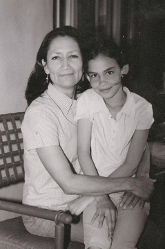 Deb Haaland and her daughter Somáh